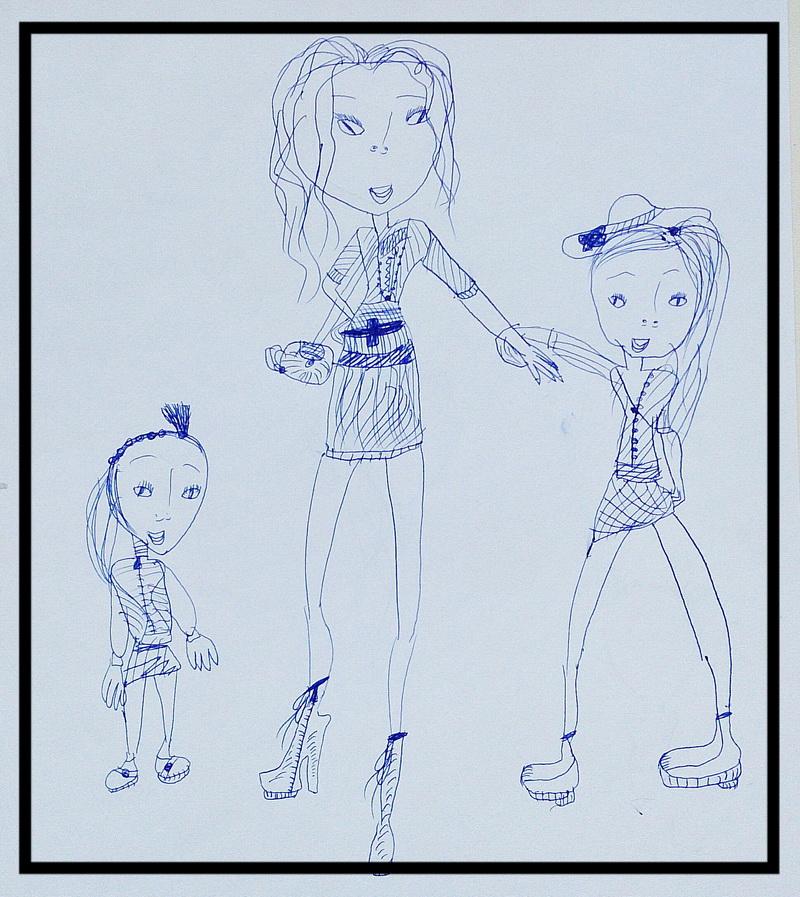 Мама, Я и моя дочка