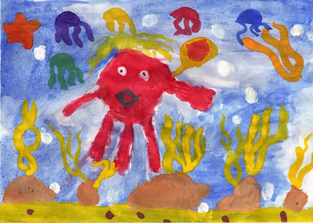 Морской осьминожек