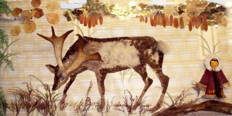 Саамский олень