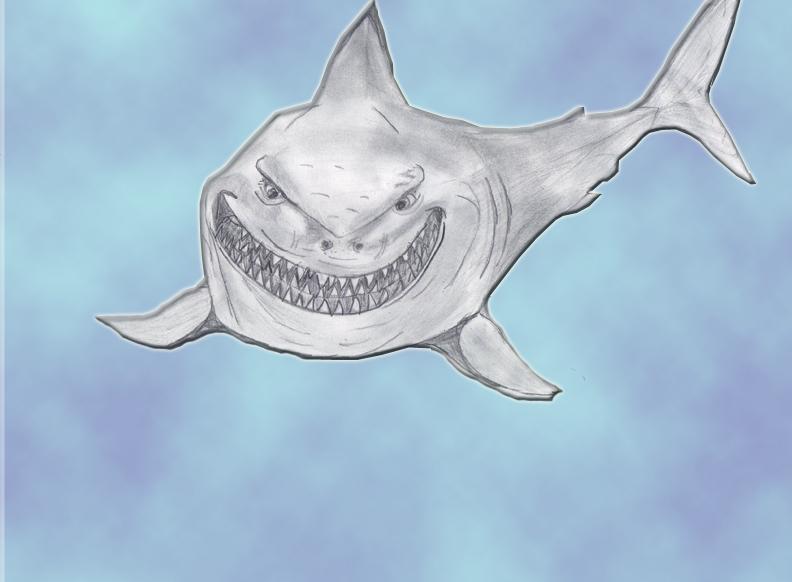 """Акула из """"Немо"""""""