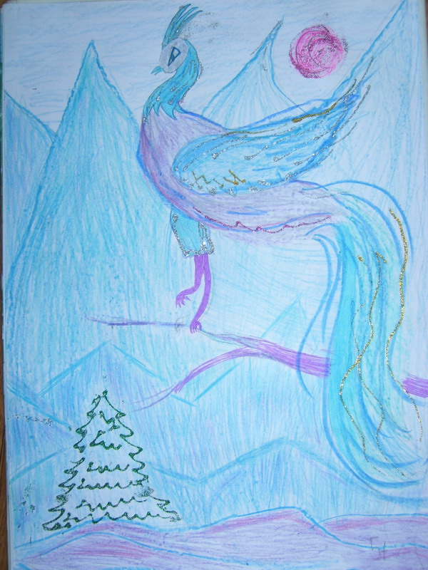 Морозная птица