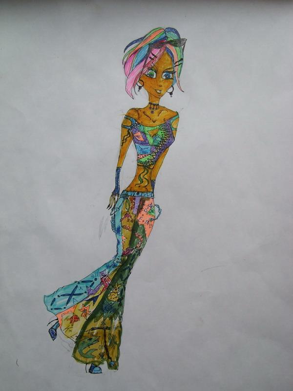 модный наряд