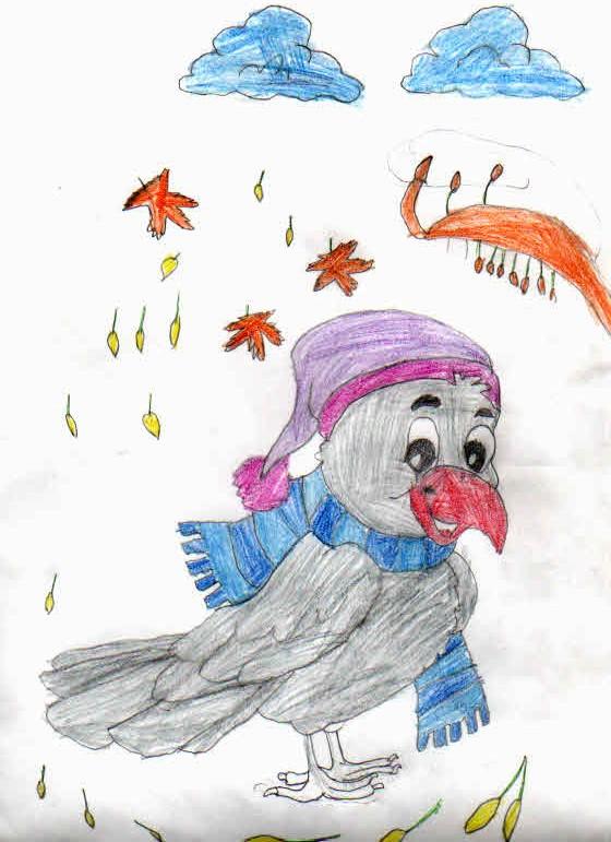 Ворона. Ахматова жасмина