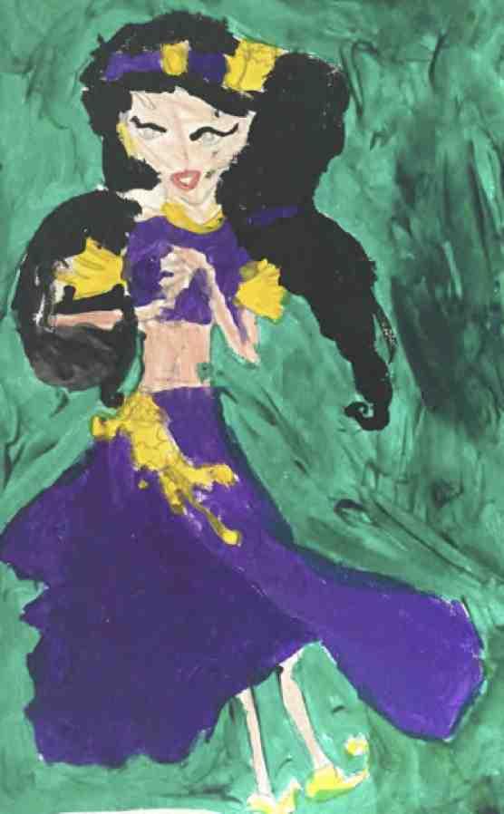 Жасмин - восточная танцовщица